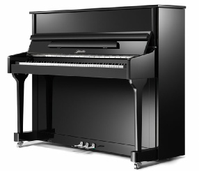 Ritmuller 118 upright piano by Pearl River